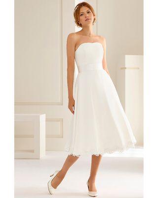vestido de novia cortos de segunda mano en madrid en wallapop