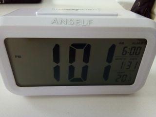 Reloj Despertador Digital Iluminacion