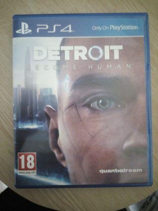 Juegos ps4 Detroit versión inglesa