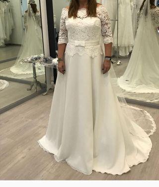 vestido de novia vintage de segunda mano en madrid en wallapop