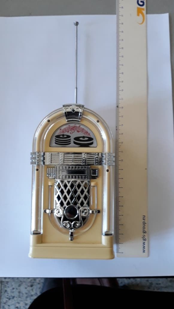 Radio Jukebox AM/FM - vintage retro