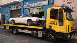 Transporte para coches clasicos