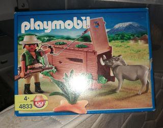 Playmobil ref. 4833 Cazador con jabali