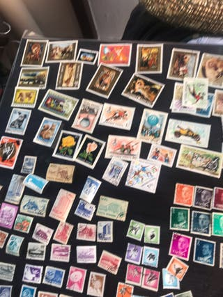 Sellos postales de colección originales correos
