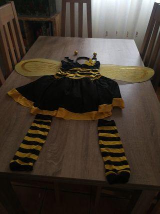 disfraz de la abeja maya talla 4.5