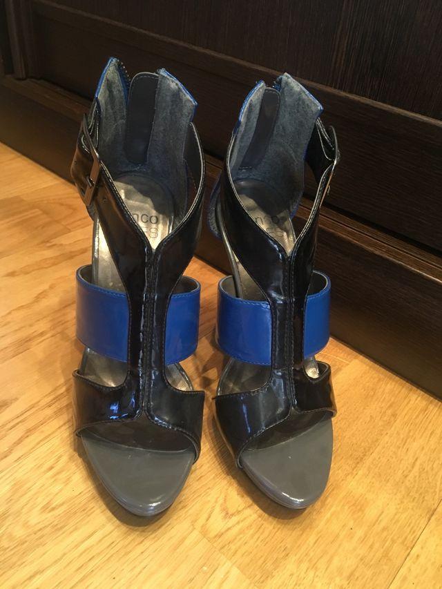 Sandalias de tacón talla 36