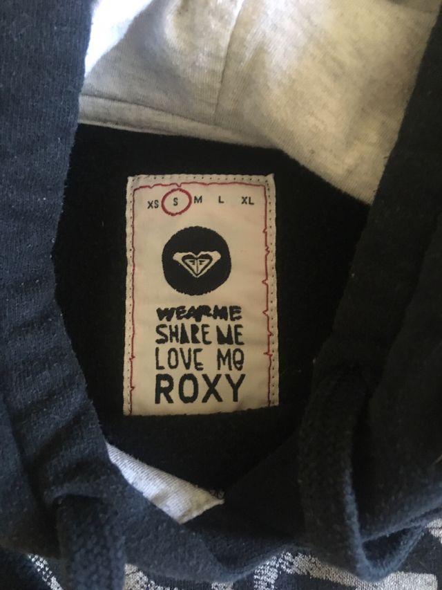 Sudadera negra Roxy talla S