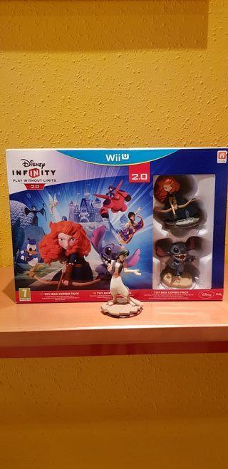 Disney Infinity 2.0 para Wii U.