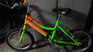"Bicicleta infantil de 16"" MAVERICK smile."