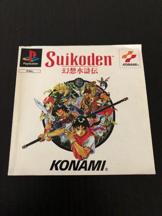 Manual de instrucciones Suikoden