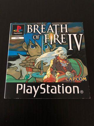 Manual de instrucciones Breath of Fire IV