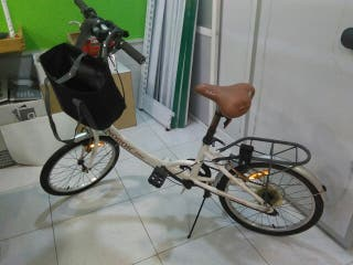 bicicleta plegable Nordic bike first classic