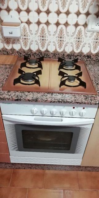Conjunto de encimera y horno Aspes