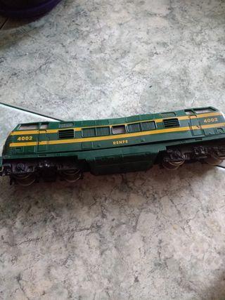 Tren antiguo, DI TU EL PRECIO