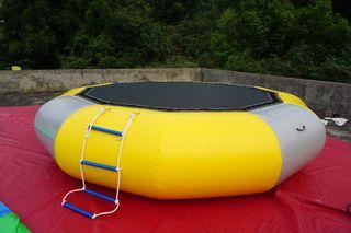 Cama elástica hinchable 4 metros diámetro ETR-3