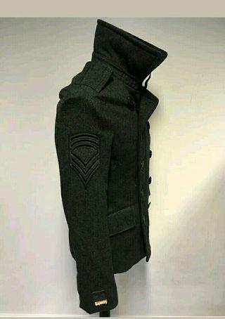Abrigo lana superdry