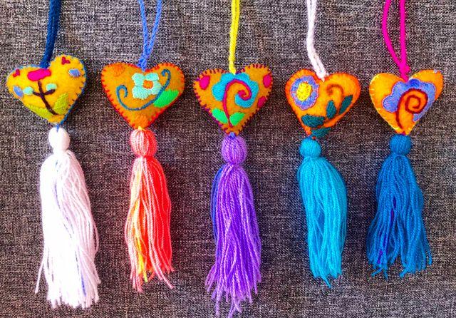 Llaveros / accesorios artesanales mexicanos.