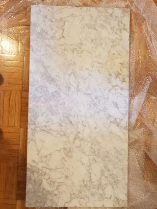 encimera de marmol