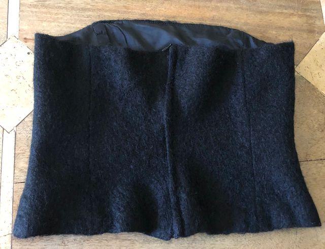 bustier noir Claudie Pierlot T.36
