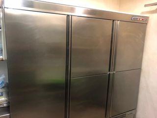 Armario frigorífico industrial 5 puertas