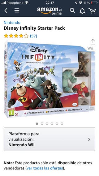 Nintendo Wii Disney Infinity
