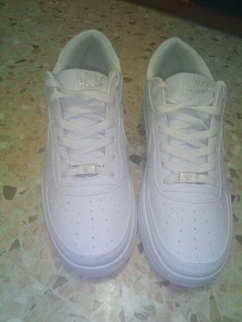 new style ce079 63ba0 nike air force one chica ...