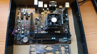 Placa base MSI + procesador