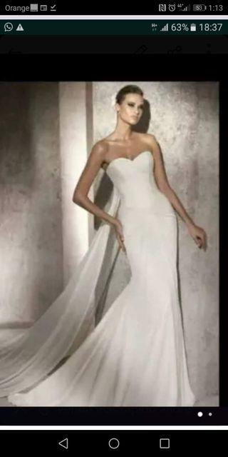 vestido de novia de segunda mano en jerez de la frontera en wallapop