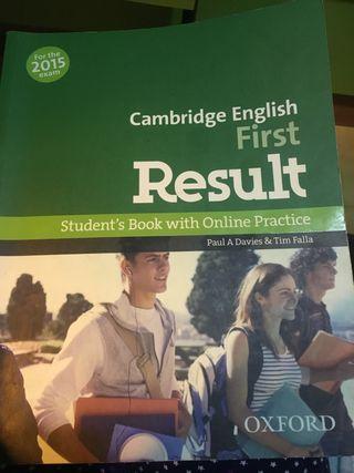 Libro Cambridge First