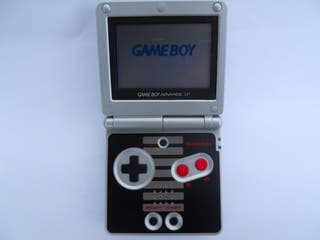 Nintendo Game Boy Advance SP NES AGS-001