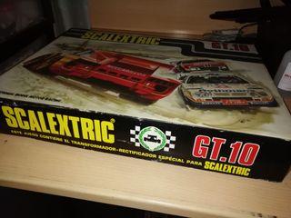 caja de circuito Scalextric GT 10