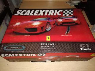 caja de circuito Scalextric C1 Ferrari