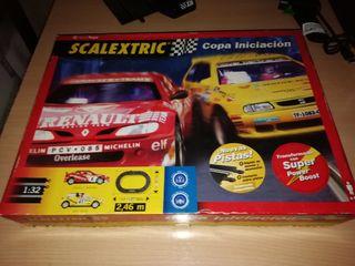caja de circuito Scalextric Copa iniciación