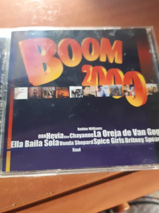 cd boom 2000 éxitos del pop