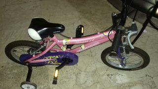 bicicleta niño o niña