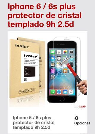 Cristal Protector. IPhone 6 / 6S Plus (nuevo)