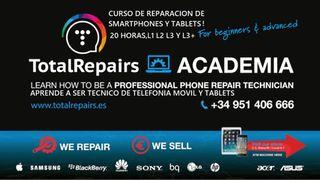 Cursos de reparación de móviles y tabletas!