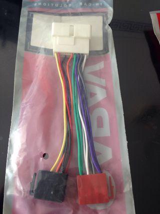Cables para cambiar radio de coche Hyundai y Kia