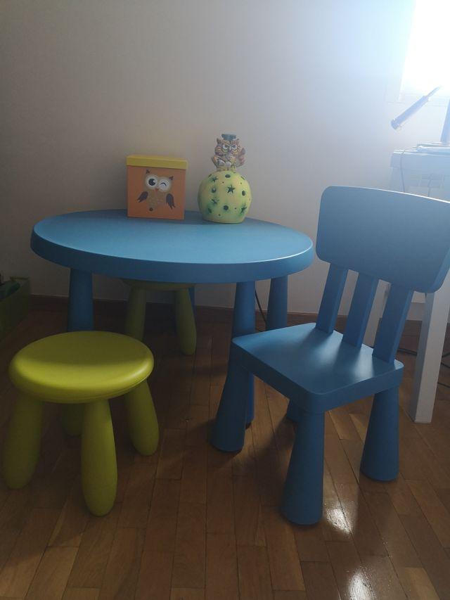 Mesa Y Sillas Infantil Ikea