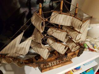 Barco decorativo figura replica