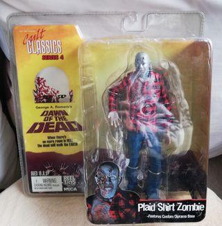 Figura NECA Plaid Shirt Zombie. CULT CLASSICS