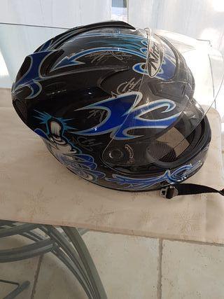 Casco moto Nitro talla XS - S