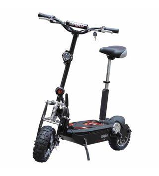 Scooter électrique sans balai 4x4 1900W sur route