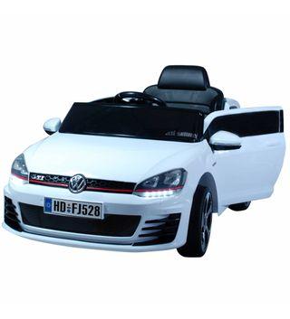 Voiture électrique pour enfants Golf GTI blanc