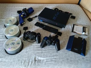 Consola PS2 pack