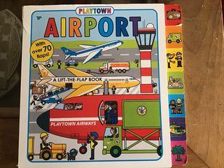 Flip flop libro aeropuerto tapa dura en inglés