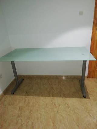 Mesa despacho ikea de segunda mano en wallapop - Mesas despacho segunda mano ...