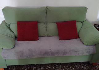 2 sofas 1 de 3 plazas y otro de 2 plazas