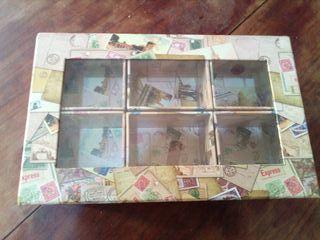 Caja guarda relojes joyas pañuelos corbatas