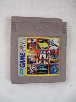 gameboy juego para consola 36 in 1 varios juegos